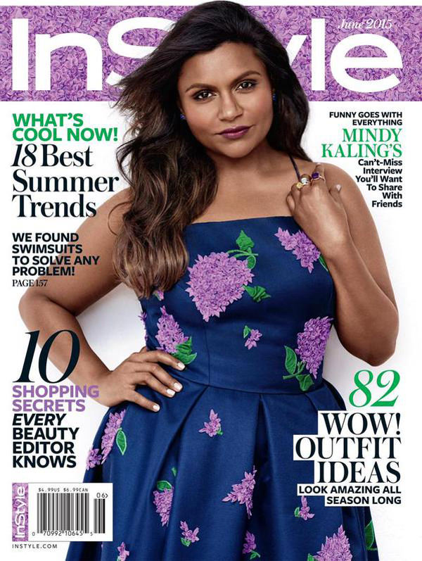 MindyKalingInstyleJune2015